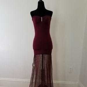 Violet Dancer's Dress